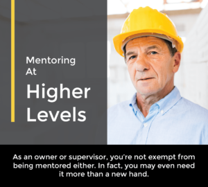 mentoring at higher levels