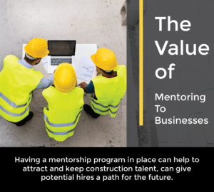 value of mentoring to businesses