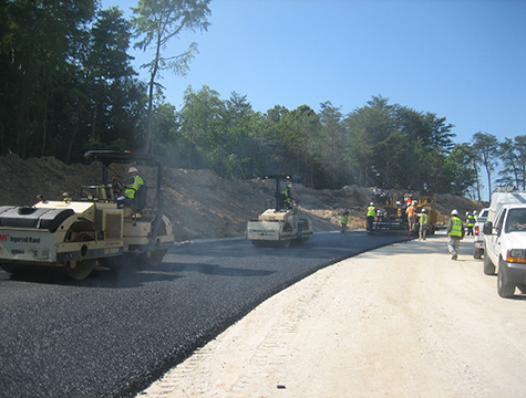 Asphalt Milling and Paving